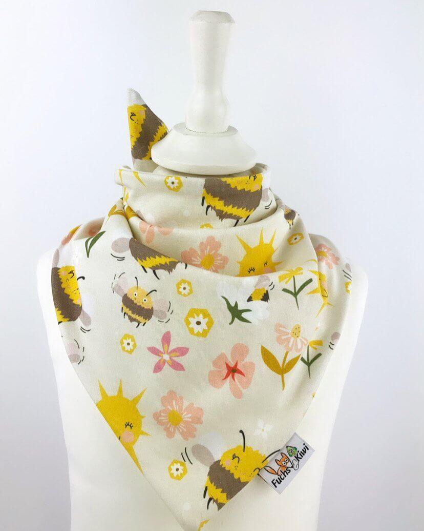 Halstuch zum Binden Bienchenwiese