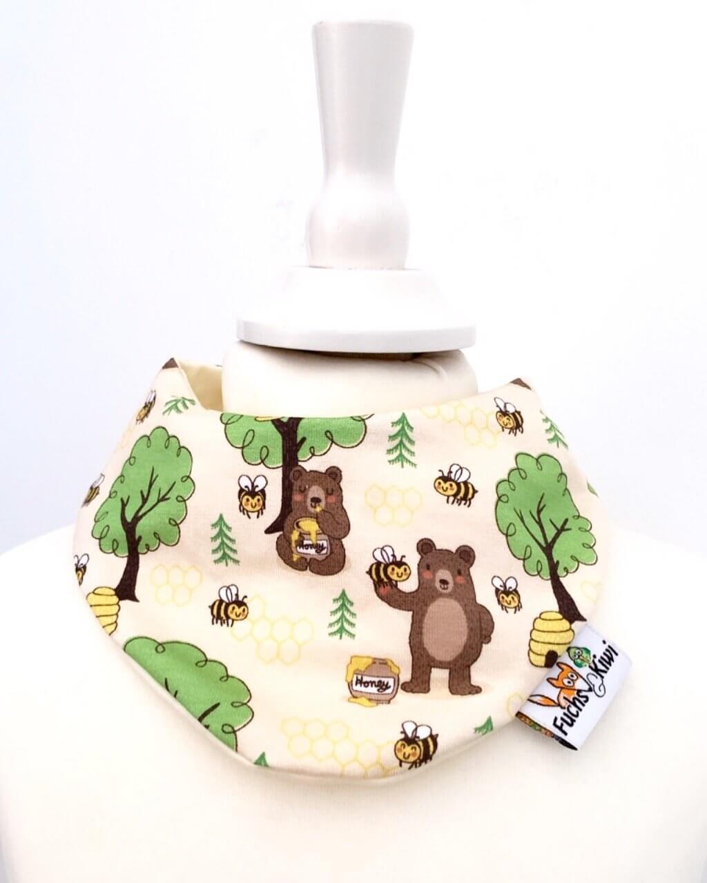 Halstuch Honigbär