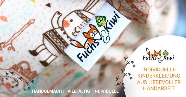 Neuheiten von Fuchs & Kiwi   Handgenähte Kinderkleidung